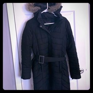 Banana Republic Black Puffer Jacket Small S